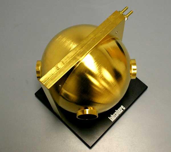 高功率激光测试用水冷镀金积分球