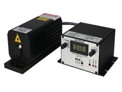 亚纳秒级主动调Q固体激光器